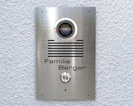 """Video-Türsprechanlage mit 2-Draht-Technik  inkl. 1 x 7-Zoll Monitor """"Clearness"""""""