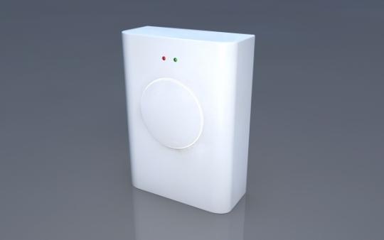"MP3-Funkgong mit Batteriebetrieb und LED-Anzeige ""Chime White"""