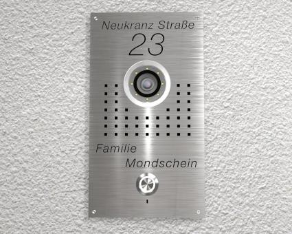 "Video-Türsprechanlage mit 2-Draht-Technik  inkl. 1 x 7-Zoll Monitor ""Significant"""