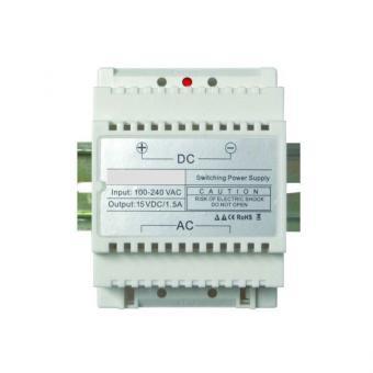 """Hutschienen Trafo 230V 15V–1.5A Stromversorgung """"White Supply"""""""